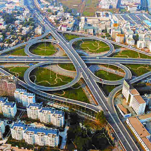 郑州市南阳路立交桥