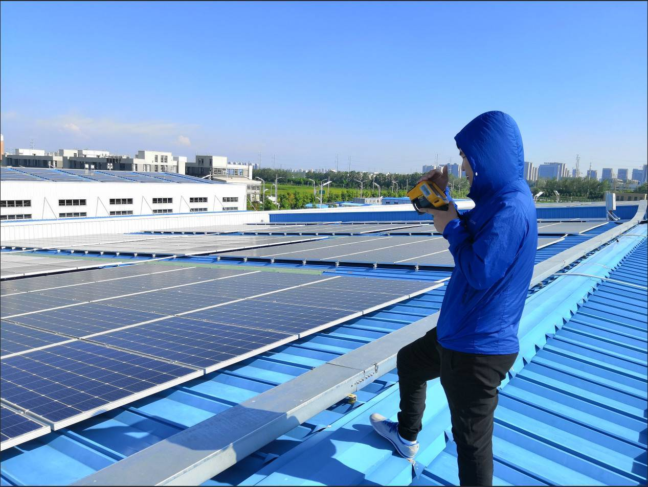 太阳能检测及建造